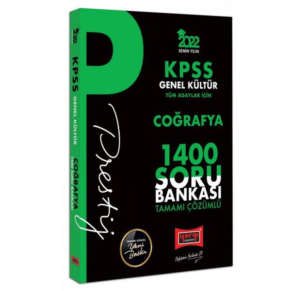 2022 KPSS Genel Kültür Coğrafya Prestij Seri Tamamı Çözümlü 1400 Soru Bankası Yargı Yayınları