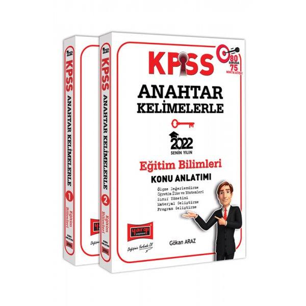 2022 KPSS Eğitim Bilimleri Anahtar Kelimelerle Konu Anlatımı Yargı Yayınları