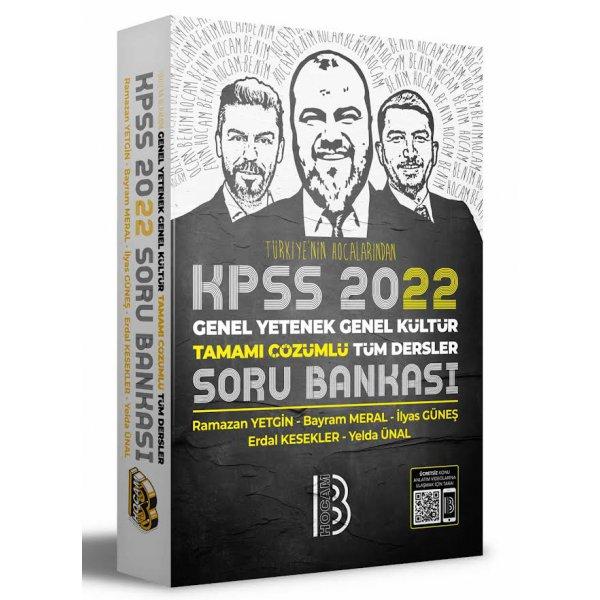 2022 KPSS Genel Yetenek Genel Kültür Tamamı Çözümlü Tüm Dersler Soru Bankası Benim Hocam Yayınları