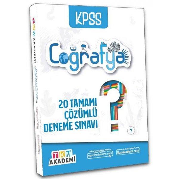 2022 KPSS Coğrafya 20 Deneme Çözümlü TKM Akademi