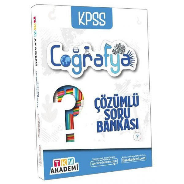 2022 KPSS Coğrafya Soru Bankası Çözümlü TKM Akademi