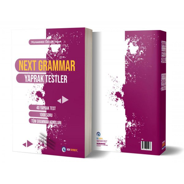 Next Grammar YDS Çek Kopart Yaprak Test Nisan Yayınevi