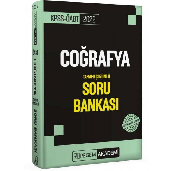 2022 ÖABT Coğrafya Tamamı Çözümlü Soru Bankası Pegem Yayınları