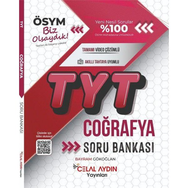 TYT Coğrafya Soru Bankası Celal Aydın Yayınları
