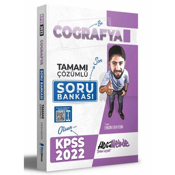 2022 KPSS Coğrafya Tamamı Çözümlü Soru Bankası HocaWebde Yayınları