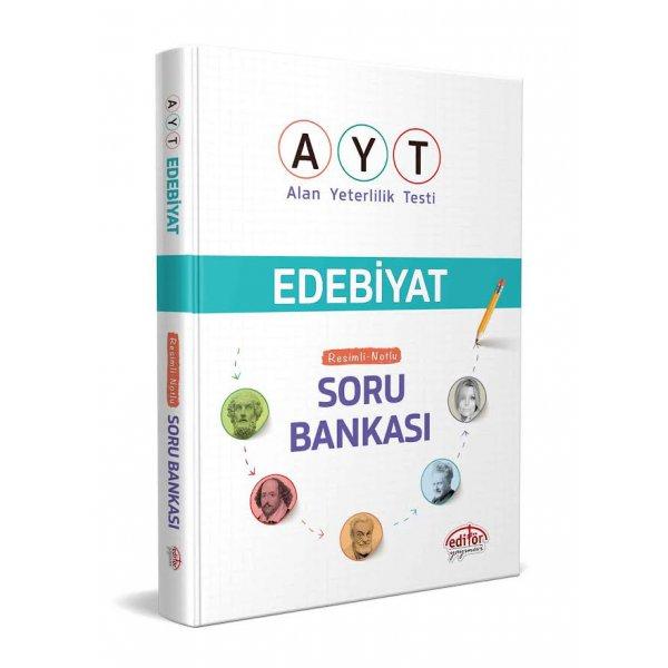 AYT Edebiyat Resimli Notlu Soru Bankası Editör Yayınları