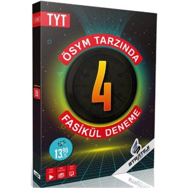 TYT 4 Fasikül Deneme Strateji Yayınları