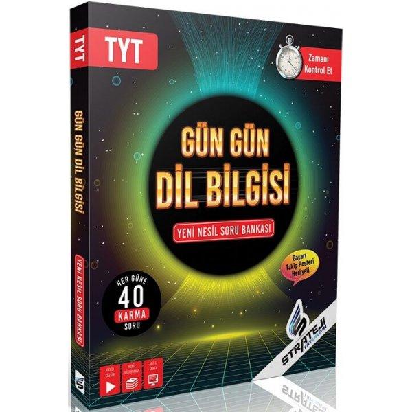TYT Dil Bilgisi Gün Gün Soru Bankası Strateji Yayınları