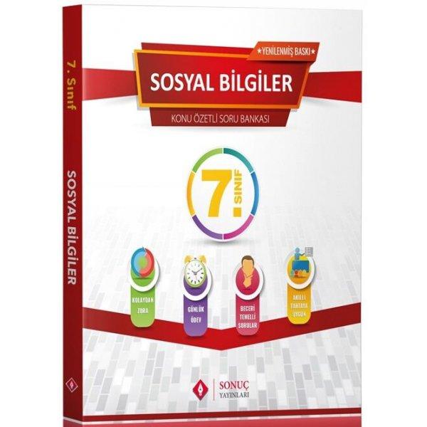 7. Sınıf Sosyal Bilgiler Kazanım Merkezli Soru Kitapçığı Seti Yenilenmiş Baskı Sonuç Yayınları