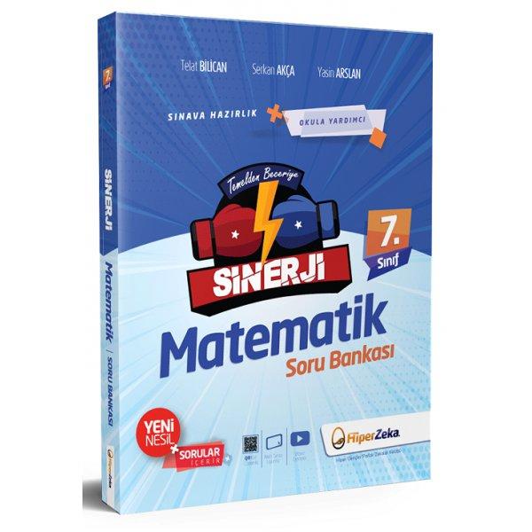 7. Sınıf Sinerji Matematik Soru Bankası Serkan Akça Hiper Zeka Yayınları
