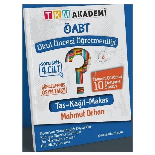 2022 ÖABT Okul Öncesi Öğretmenliği 10 Deneme Çözümlü 4.Cilt Mahmut Orhan TKM Akademi