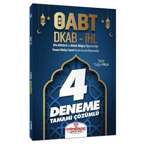 ÖABT Din Kültürü ve Ahlak Bilgisi Öğretmenliği 4 Deneme Çözümlü Tuğçe Pala Yönerge Yayınları