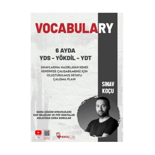 6 Ayda YDS-YÖKDİL-YDT Vocabulary Hoca Kafası Yayınları